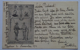 32 Franz Joseph Josef I Kaiser 1914 Emperor Soldiers Comrades Feldpost 56 - Case Reali