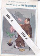 """Spotkaart GERAARDSBERGEN """"Het Is Beter Zat Dan Zot Te Zijn Leve Het Goede Bier Van Geraardsbergen"""" - Gent"""