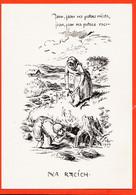 VaO048 Illustrateur Tchèque Mikolas ALES - Pêche Aux ECREVISSES Jsou Na Potoce RACATA Jsou Na Potoce Raci NA RACICH - Künstlerkarten
