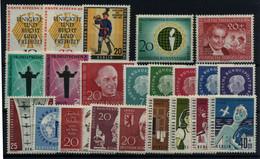Alemania (Berlín) Nº 154/61, 162A/75. Año 1957/60 - Neufs