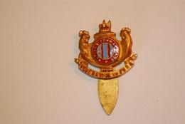 Insigne , Militaria , MUTILES COMBATTANTS , Fédération Du JURA , 2 Scans , H. Bargas ,Paris - Sonstige