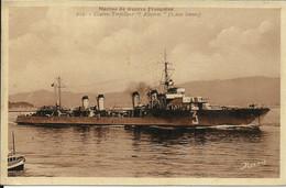 """Marine De Guerre Française , Contre Torpilleur """" Albatros """" ( 2200 Tonnes ) - Krieg"""
