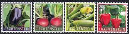 Liechtenstein 2018 Flora Vegetables 4v MNH - Vegetables