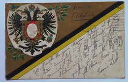 24 Franz Joseph Josef I Kaiser 1915 Emperor Coat Of Arms - Case Reali