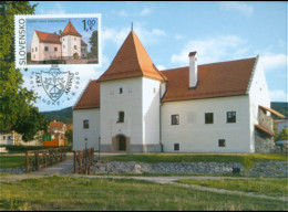 Carte Maximum_SLOVAKIA Beauties Of Our Homeland: The Water Castle Of Šimonovany - Other