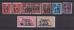 Memelgebiet - 1921/22 - Michel Nr. 34/35 + 47/48 + 49/50 - Ungebr./Gestempelt - Klaipeda