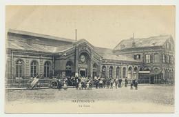 HAZEBROUCK  - La Gare - Carte Animée - Hazebrouck