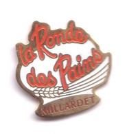 HH85 Pin's Boulangerie Toque MILLARDET Ronde Des Pains Charquemont SANCEY LE LONG Doubs Achat Immédiat - Food