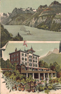 77834- Hotel Rütliblick Morschach Bei Brunnen Kanon Schwyz Um 1920 - SZ Schwyz