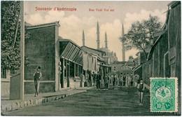 EDIRNE  - Andrinople -Rue Yediyol - Turkey - Turquie - Turquia