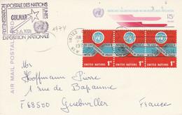 NATIONS UNIES EXPO DE COLMAR 1974 - Cachets Commémoratifs