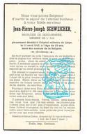 DP Gendarme Brigadier J.P. Schweicher ° 1924 † Liège 1947 / Membre Armée Secrète - Belgisch Legioen Guerre Oorlog 40-45 - Andachtsbilder