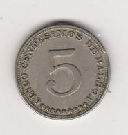 5/100 BALBOA 1932 CUPRO-NICKEL - Panama