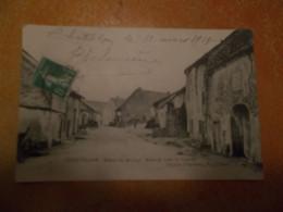 Cpa Chatillon Jura Entrée Du Village Route De Lons Le Saunier - Andere Gemeenten