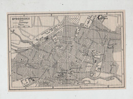 Bydgoszcz  Bidgostie Bromberg Plan De La Ville  1939 - Unclassified