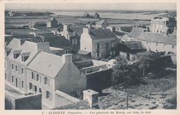 29  GUISSENY    Prés BRIGNOGAN     Vue Generale Du Bourg,au Loin  La Mer       PLAN 1939  RARE - Brignogan-Plage