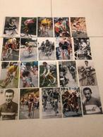 CYCLISME - 100 PHOTOS REPRODUCTIONS - COUREURS CYCLISTE - MERCKX - ANQUETIL - FIGNON ................ - Ciclismo