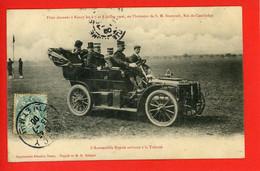 54 NANCY 6-8 Juil 1906 Fêtes Accueil Roi Du Cambodge Automobile Royale Lorraine Dietrich - Other
