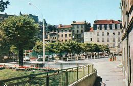 V10 45Sit  07 Annonay Place Des Cordeliers Hotel Du Midi Pompes à Essence - Annonay