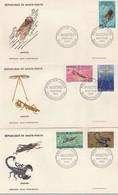 Haute Volta 3 FDC 1966 Insectes Scorpion - Ohne Zuordnung