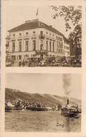 77836- Hotel Restaurant Löwen Zug Am Zugersee Um 1935 - ZG Zug