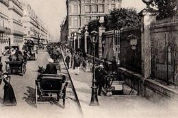 CPA 75 PARIS 1er Station De Métro TUILERIES Deux Entrées Métropolitain Guimard Rue De Rivoli N° 55 Collection ND Phot - District 01