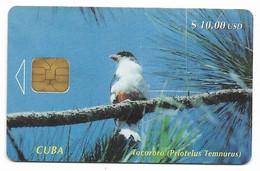 CUBA, Used Chip Phonecard, In Perfect Condition. Tocororo, # Cuba-10 - Cuba