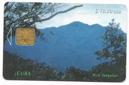 CUBA, Used Chip Phonecard, In Perfect Condition. Pico Turquino, # Cuba-11 - Cuba