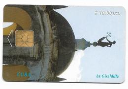 CUBA, Used Chip Phonecard, In Perfect Condition. La Giraldilla, # Cuba-14 - Cuba