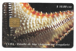 CUBA, Used Chip Phonecard, In Perfect Condition. Estrella De Mar, # Cuba-18 - Cuba
