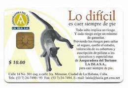 CUBA, Used Chip Phonecard, In Perfect Condition. Lo Dificil..., # Cuba-22 - Cuba