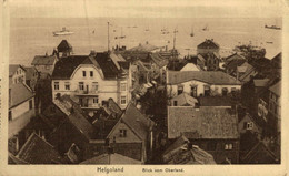 HELGOLAND, BLICK VOM OBERLAND. ALEMANIA GERMANY DEUTSCHLAND - Ohne Zuordnung