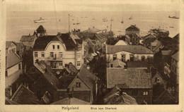 HELGOLAND, BLICK VOM OBERLAND. ALEMANIA GERMANY DEUTSCHLAND - Alemania