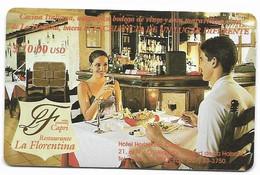 CUBA, Used Chip Phonecard, In Perfect Condition. Restaurante La Florentina, # Cuba-56 - Cuba