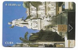 CUBA, Used Chip Phonecard, In Perfect Condition. Monumento A José Martí, # Cuba-58 - Cuba