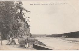 29) MORLAIX - LE TOURNANT DU BAS DE LA RIVIERE , A TOUL MAHO - (ANIMEE - PERSONNAGES - 2 SCANS) - Morlaix