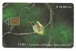 CUBA, Used Chip Phonecard, In Perfect Condition. Cartacuba O Pedorrera, # Cuba-60 - Cuba