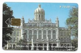 CUBA, Used Chip Phonecard, In Perfect Condition. Museo De La Revolución, # Cuba-67 - Cuba