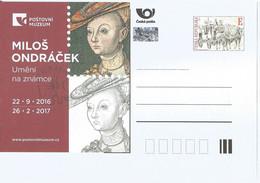 CDV PM 113 Czech Republic M. Ondracek Anniversary 2016 Engraver Lucas Granach Transcription - Postales