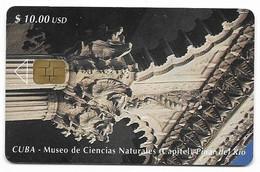 CUBA, Used Chip Phonecard, In Perfect Condition. Museo De Ciencias Naturales, # Cuba-70 - Cuba