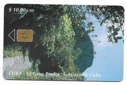 CUBA, Used Chip Phonecard, In Perfect Condition. La Gran Piedra, # Cuba-73 - Cuba