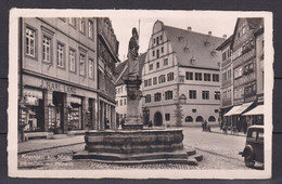 Deutsches Reich - 1939 - Kitzingen Am Main Marktplatz - Postkarte - Used Stamps