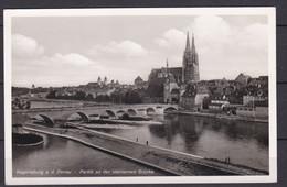 Deutsches Reich - 1940 - Regensburg A. D. Donau - Postkarte - Used Stamps
