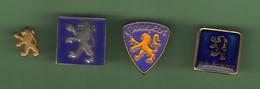 PEUGEOT *** LOGO *** Lot De 4 Pin's Differents *** 5029 - Peugeot