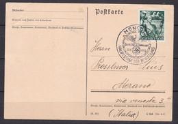 Deutsches Reich - 1938 - Postkarte Nach Italien Mit Sonderstempel - Used Stamps