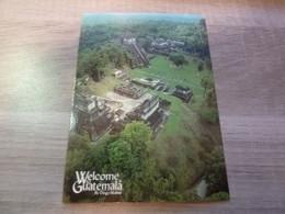 WELCOME TO GUATEMALA - VUE AERIENNE - EDITIONS EVEREST GUATEMALA - - Guatemala