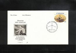 Canada 1980 Rowing Ned Hanlan World Champion FDC - Roeisport