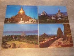 BIRMANIE - PAGAN - MULTI-VUES - EDITIONS BURMA - - Laos
