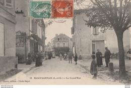 Y6- 47) MAS D'AGENAIS (LOT ET GARONNE) LA GRAND ' RUE - (ANIMEE) ( - Other Municipalities