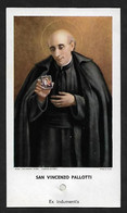 Santino Con Reliquia/holycard With Relic: S. VINCENZO PALLOTTI - Religion &  Esoterik